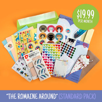 $20 Standard Sticker & Stationery Subscription Box