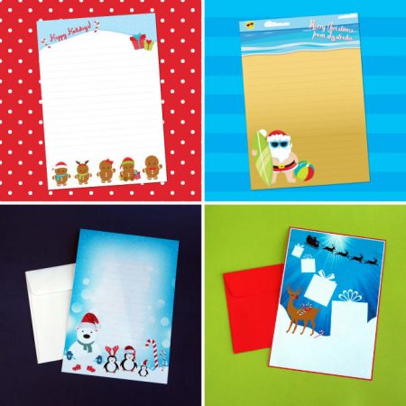 Christmas Letter Writing Sets