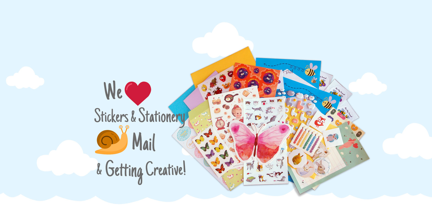 Sticker & Stationery Slider