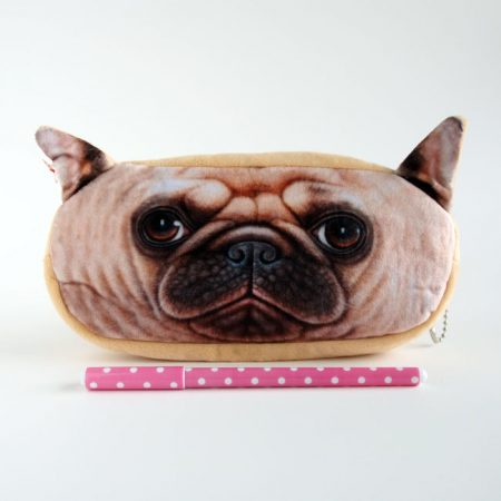 Pug Dog Pencil Case