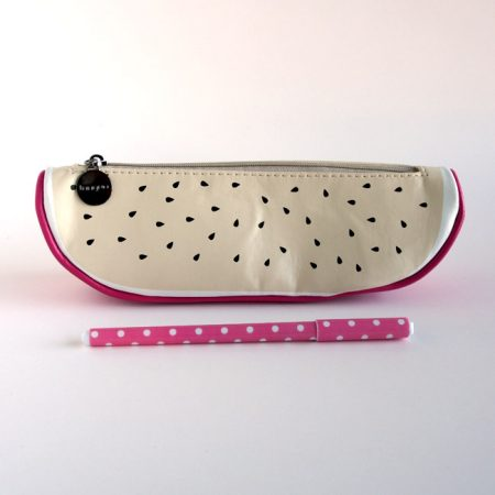 Dragon Fruit Pencil Case With Pen