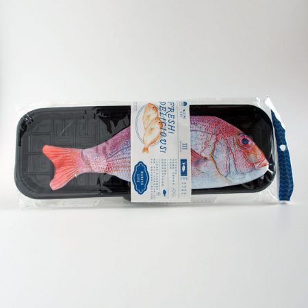 Red Fish Pencil Case