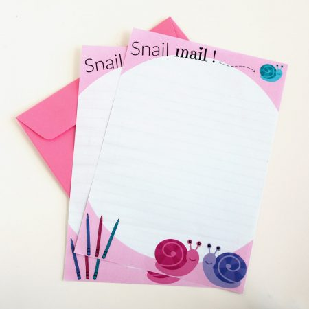 snail mail letter writing set