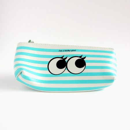 Stripe Sweet Eyes Pencil Case