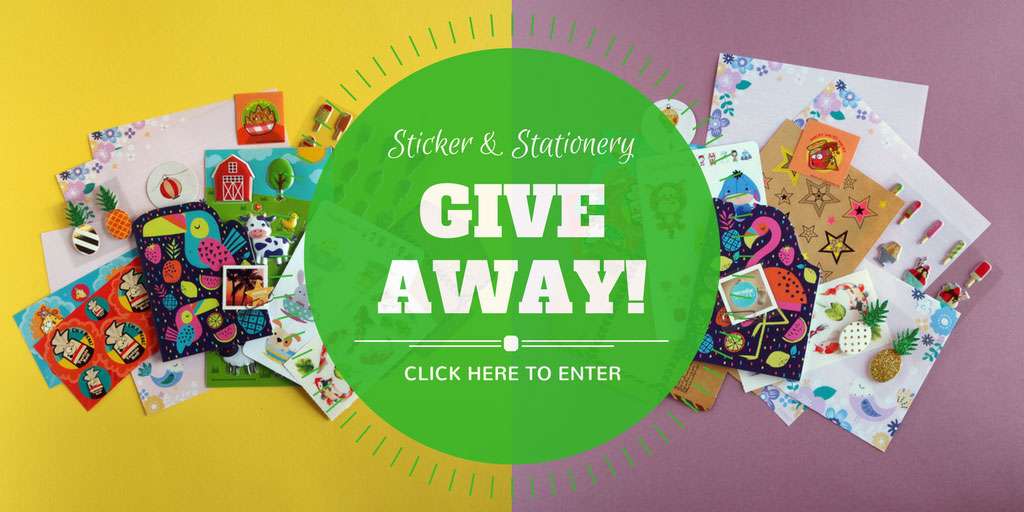 Sticker & Stationery Pack Competition