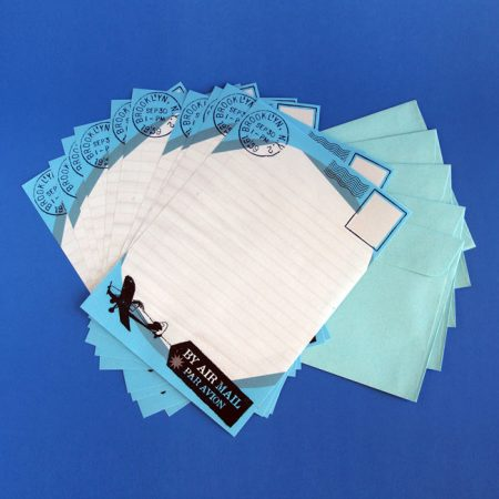 Air Mail Letter Writing Paper & Envelopes
