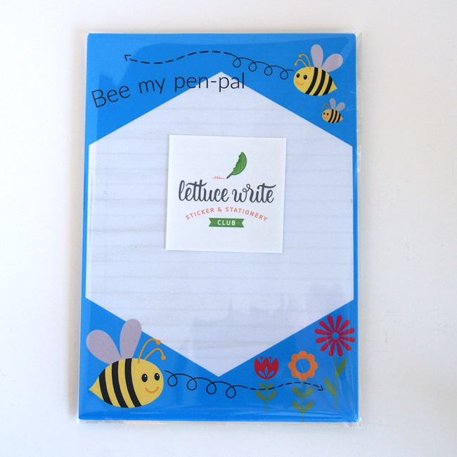 Bee My Penpal Letter Writing Set