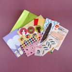 Mini Stationery & Sticker Subscription Pack Variation 3