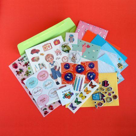 Sticker & Stationery Packs