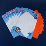 Monster Fun Letter Writing Paper & Envelopes