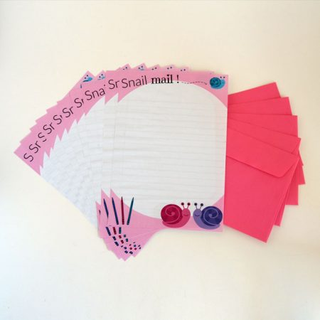 Snail Mail Letter Writing Paper & Envelopes