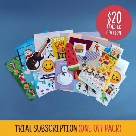 Trial Sticker & Stationery Subscription Pack
