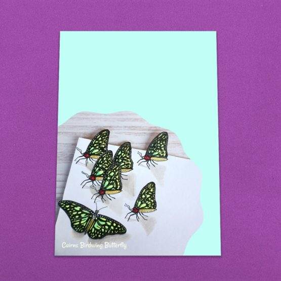 Cairns Birdwing Butterfly Letter Writing Paper