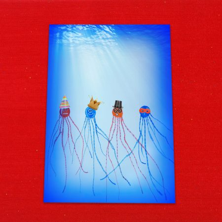 Jellyfish Letter Writing Paper