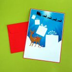 Reindeers Presents Letter Writing Set