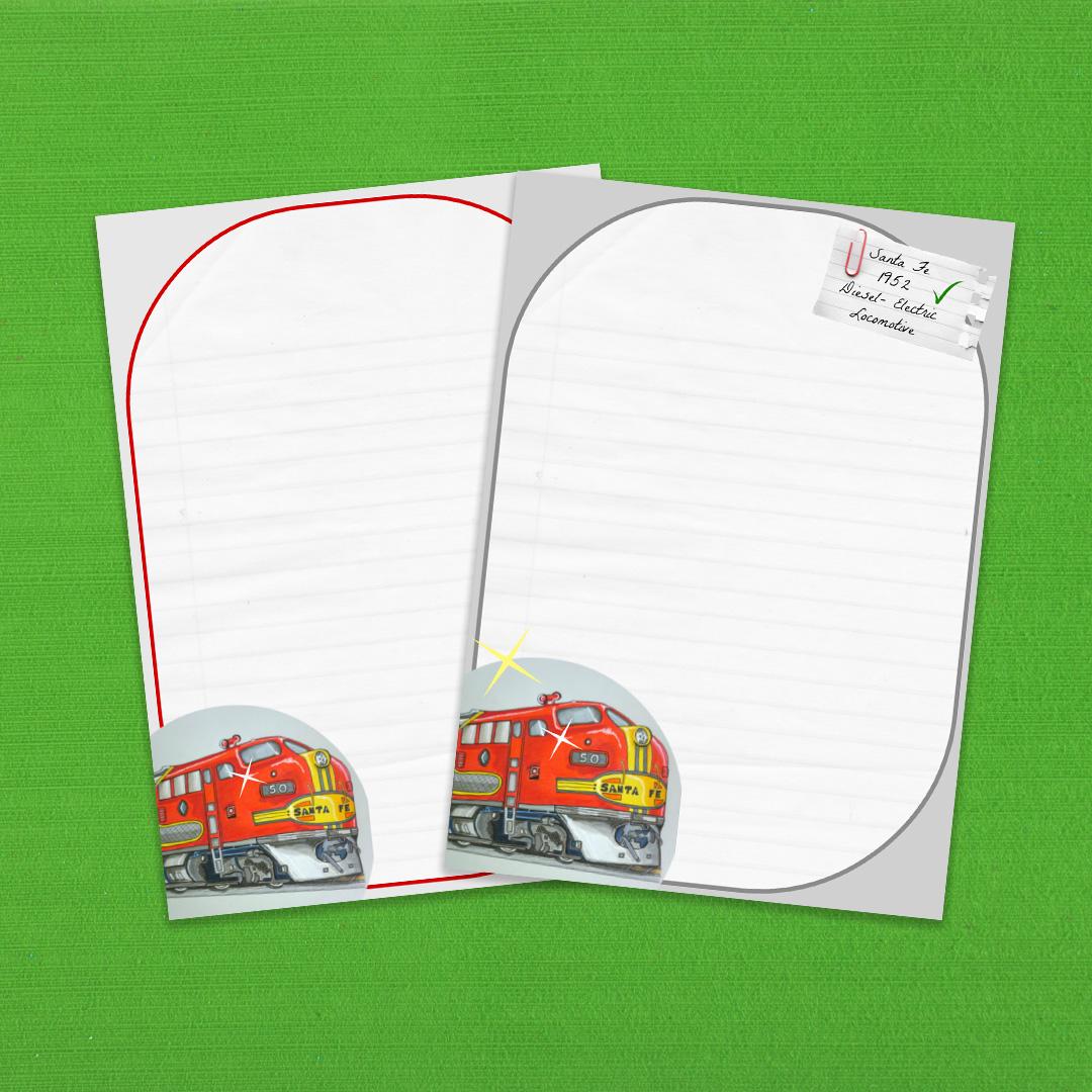 Santa Fe Multi-Design Writing Paper