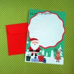 Santa Reindeer Letter Writing Set