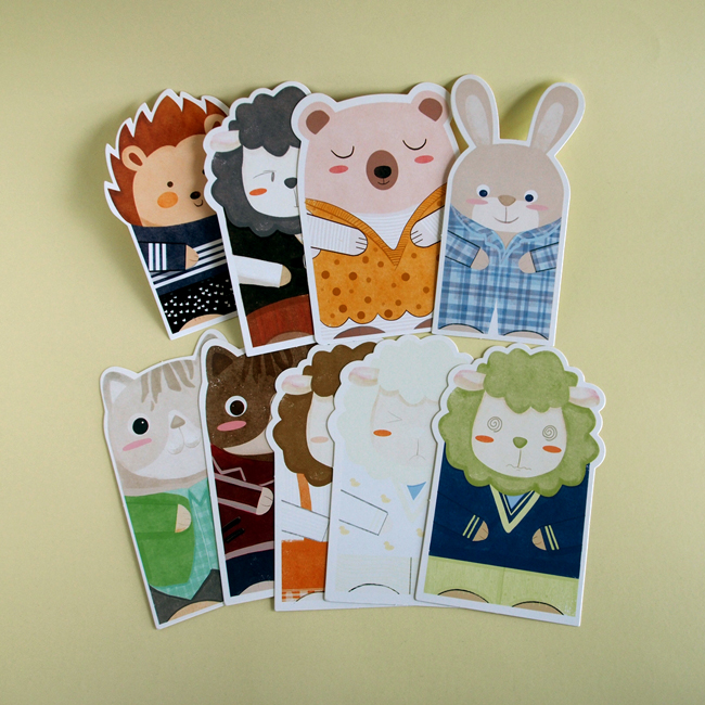 Assorted Animal Postcards