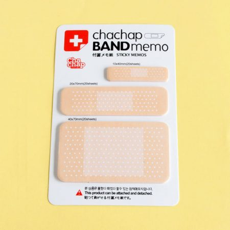 Bandaid Novelty Sticky Notes