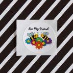 Bee My Friend Stickers