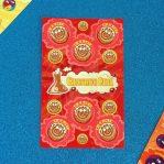 Cinnamon Roll Scratch'n'Sniff Sticker Sheet