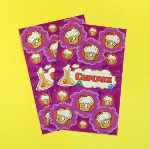 Cupcake Scratch & Sniff Sticker Sheets