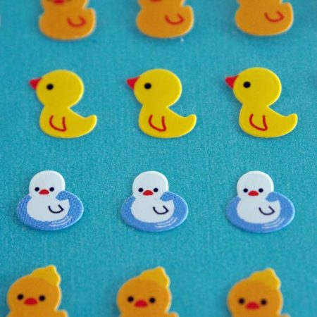 Cute Micro Ducky Sticker Sheet