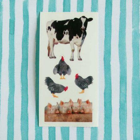 Farm Animals Sticker Sheet