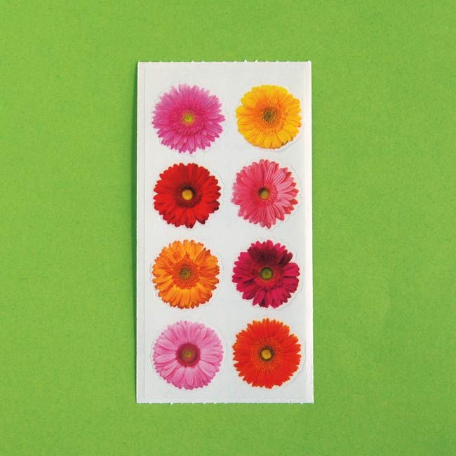 Gerbera Sticker Sheet