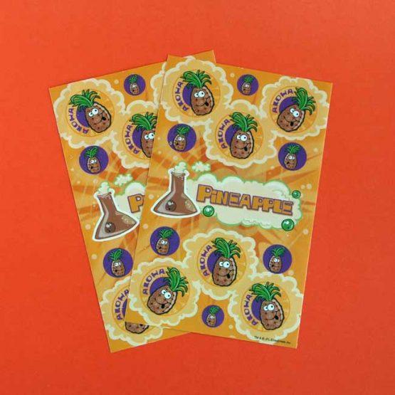 Pineapple Scratch'n'Sniff Sticker Sheet