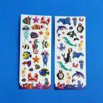 Sea Creature Sticker Sheets