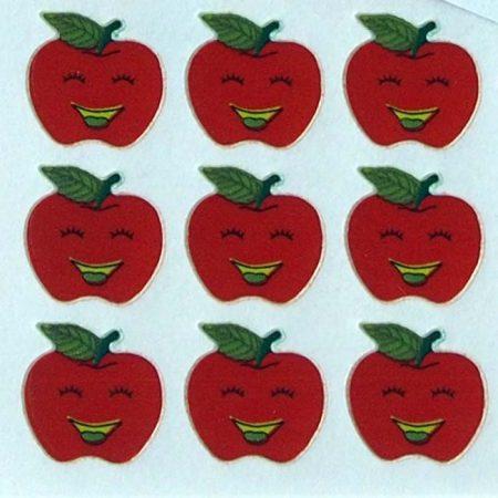 Smiling Apple Sticker Sheet