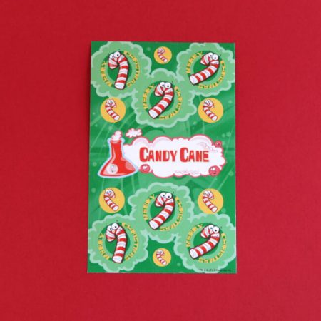 Candy Cane Scratch 'n' Sniff Stickers