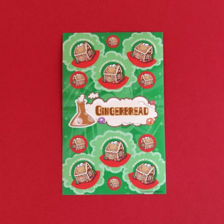 Gingerbread Scratch 'n' Sniff Stickers