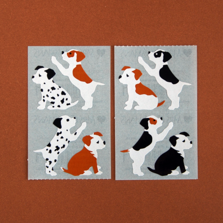 Cute Puppy Sticker Sheets