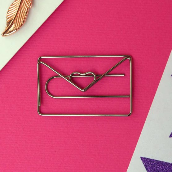 Love Heart Paperclip