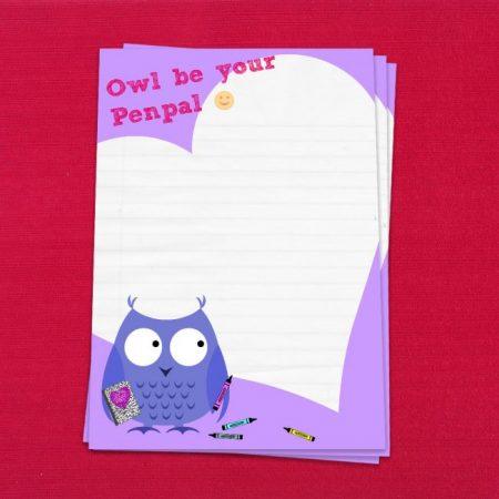 Owl Be Your Penpal Letter Writing Set