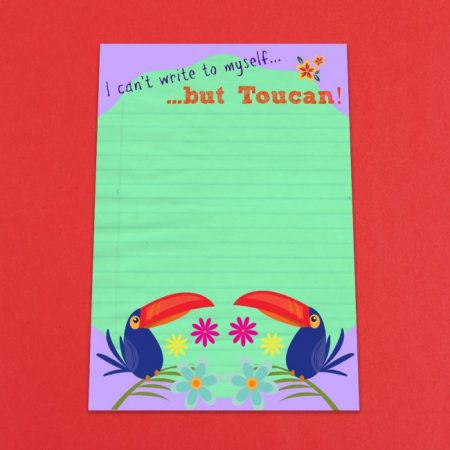 I Can't Write To Myself But Toucan Letter Writing Set