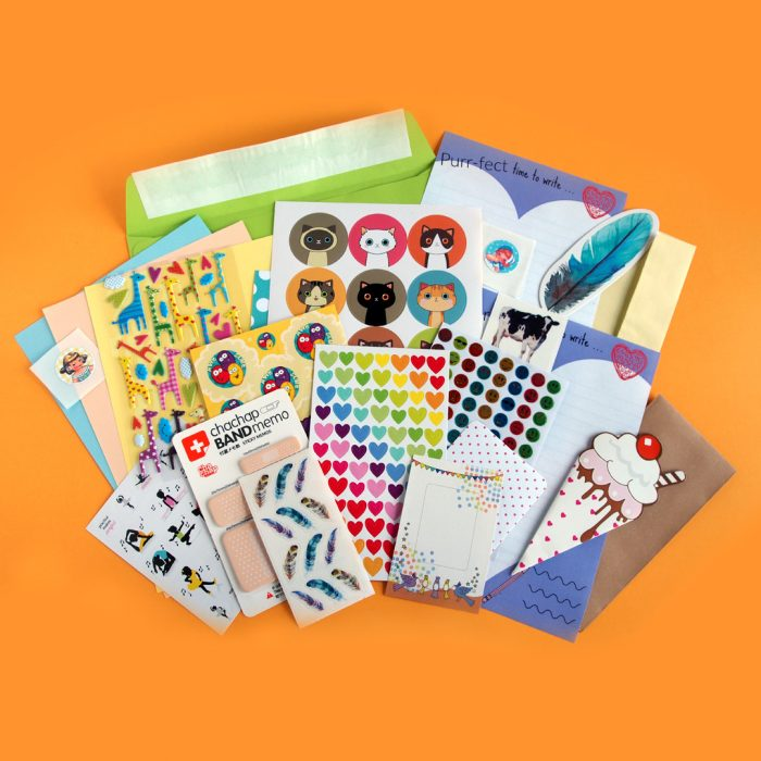 April 2017 Sticker & Stationery Subscription Box