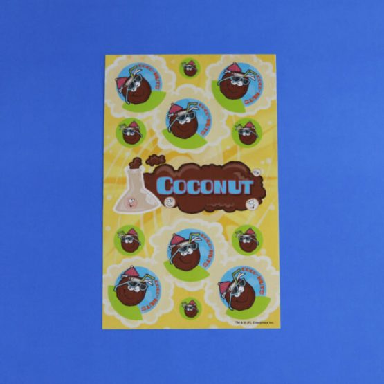 Coconut Scratch 'n' Sniff Stickers