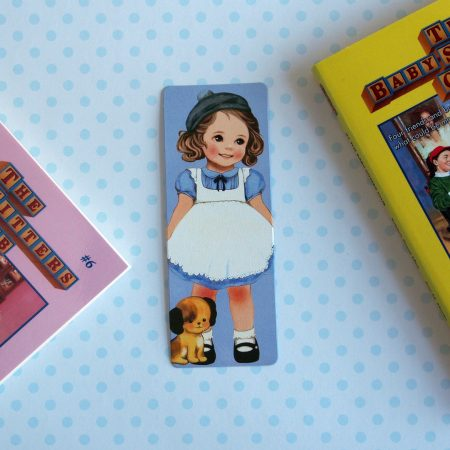 vintage doll bookmark