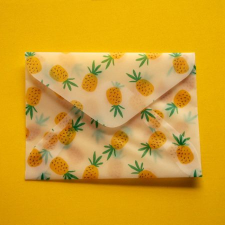 Pineapple Translucent Envelopes