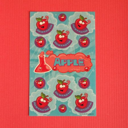 Scratch'n'Sniff Apple Stickers