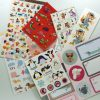 Large sticker sheet multi-pack