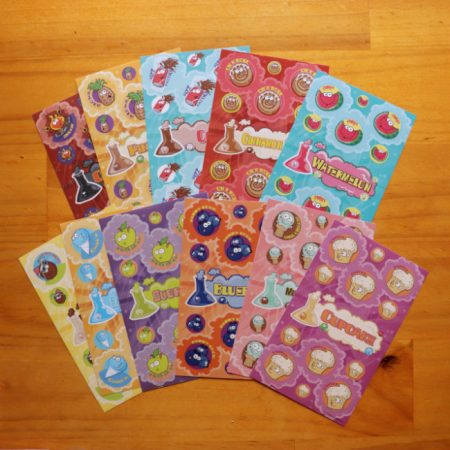 11 Sheet Scratch & Sniff Sticker Pack