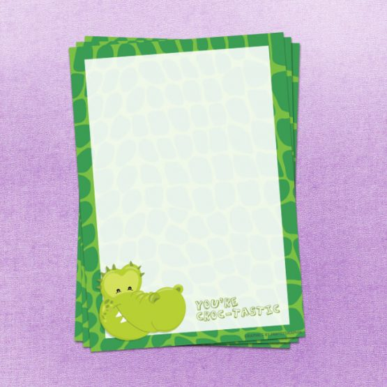 Crocodile Letter Writing Paper