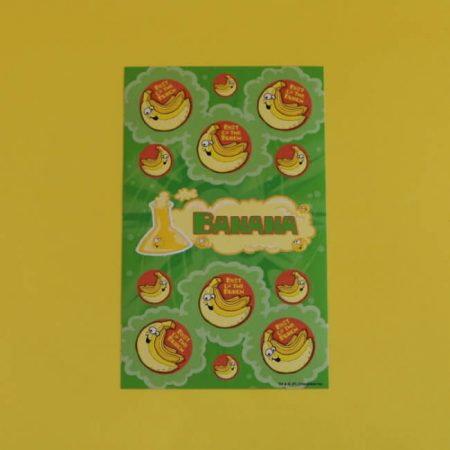 Banana Scratch 'n' Sniff Stickers