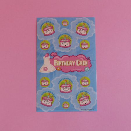 Birthday Cake Scratch'n'Sniff Stickers
