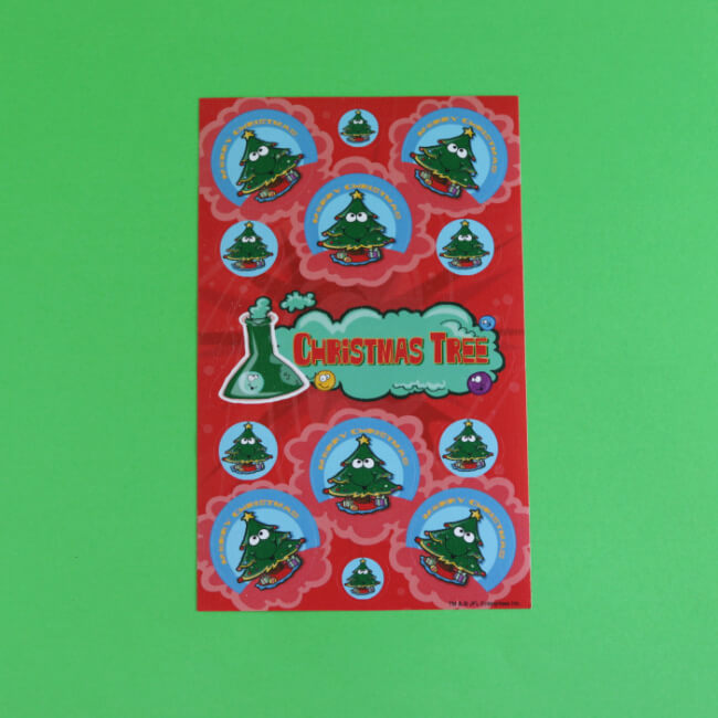 Christmas Tree Pine Scratch 'n' Sniff Stickers