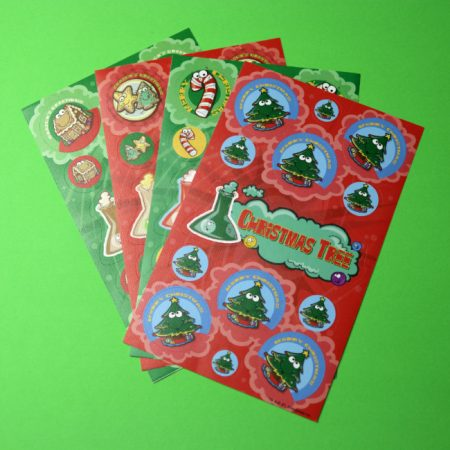 Christmas Smelly Sticker Pack